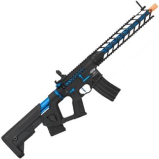 Lancer Tactical Enforcer Proline Night Wing Skeleton Blue airsoft assault rifle